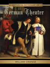 Historical Dictionary of German Theater (eBook)